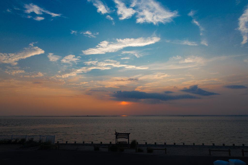 Pastel Sunset at LBI