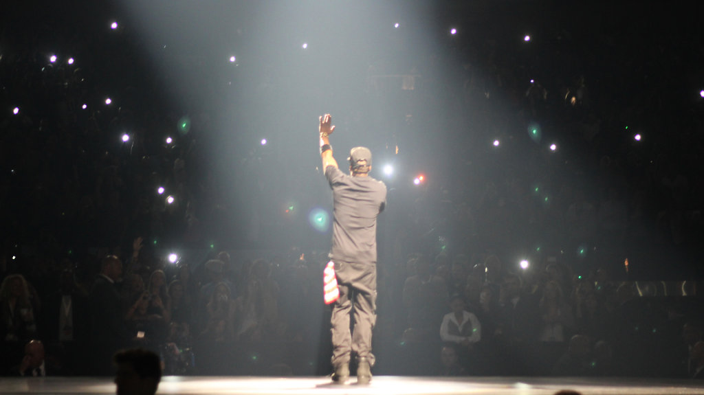Jay-Z at Watch the Throne Tour at MSG