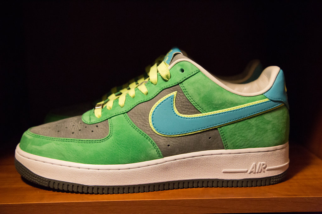 """My """"Green Eggs and Ham"""" Bespoke Air Force 1's"""