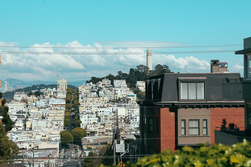 Hills and Shit in San Fran