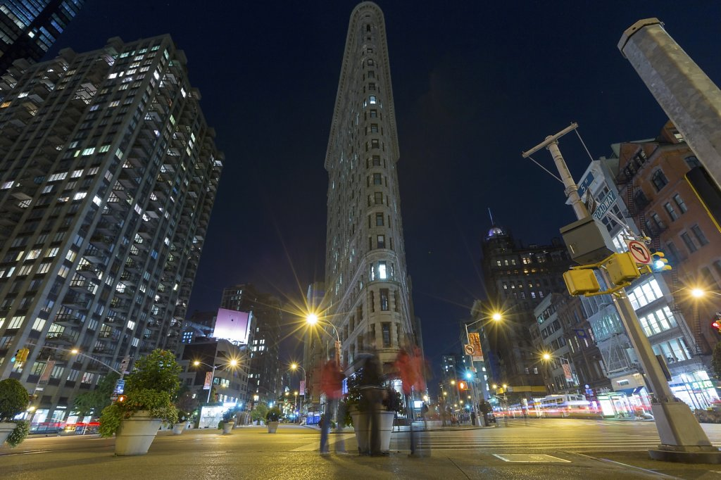 Flatiron Building in October