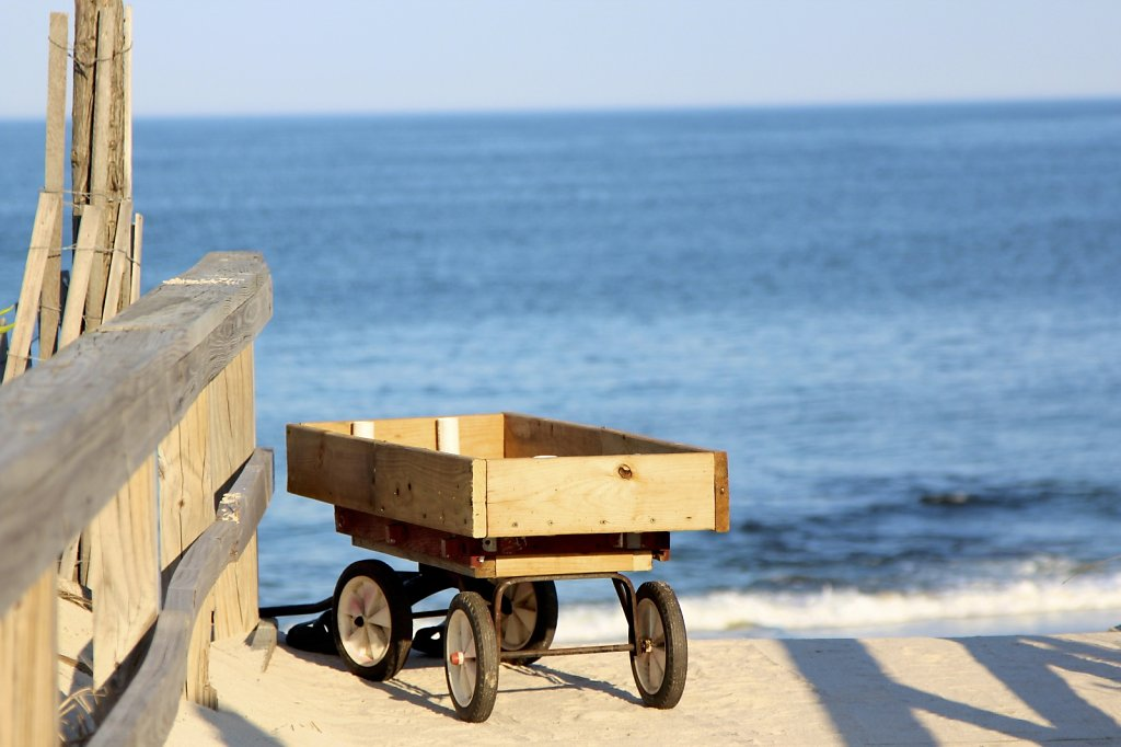 Wagon at LBI