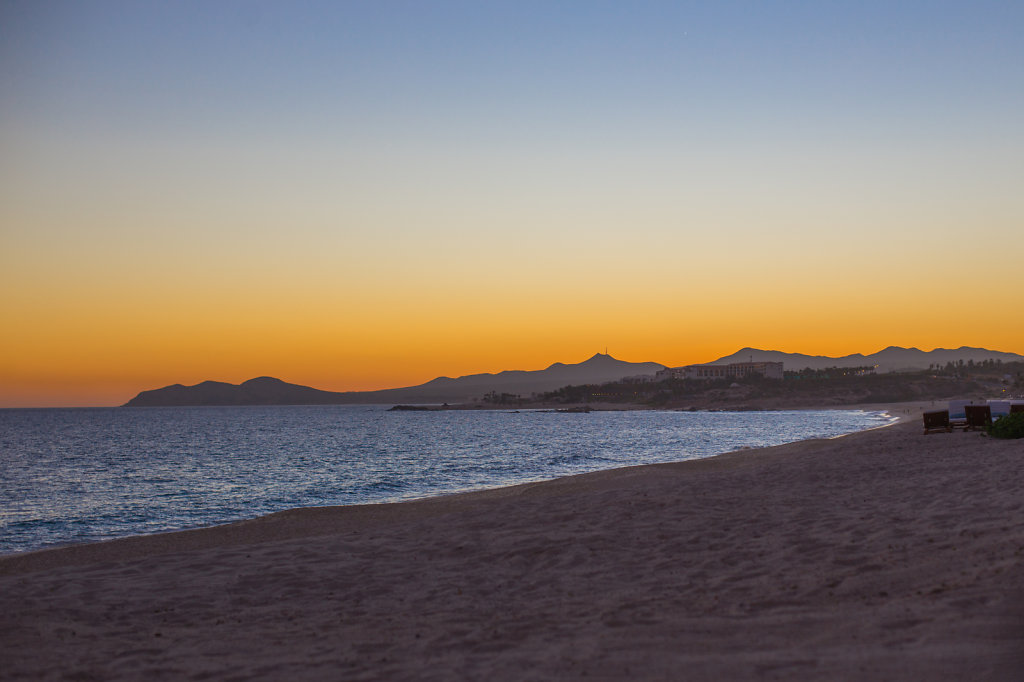 Sunset from the Beach in Cabo