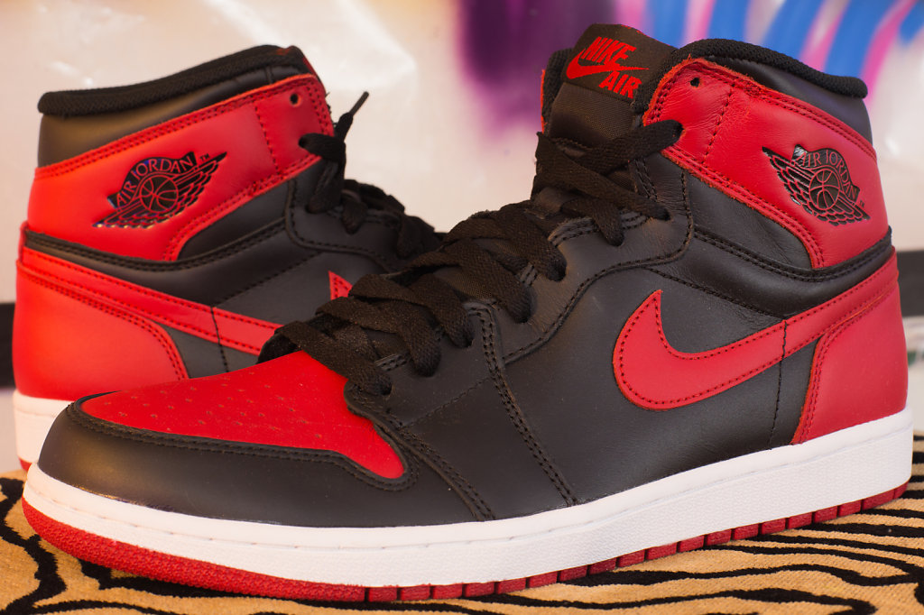 "Air Jordan I Retro High OG ""Bred"""