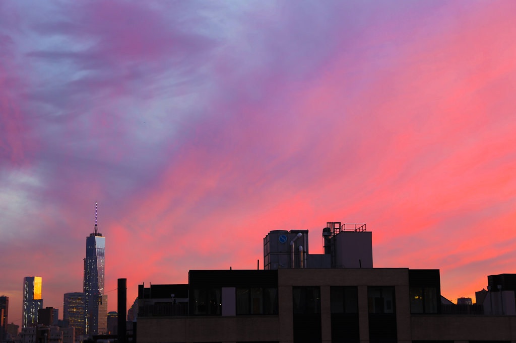 1 World Trade Center at Sunset