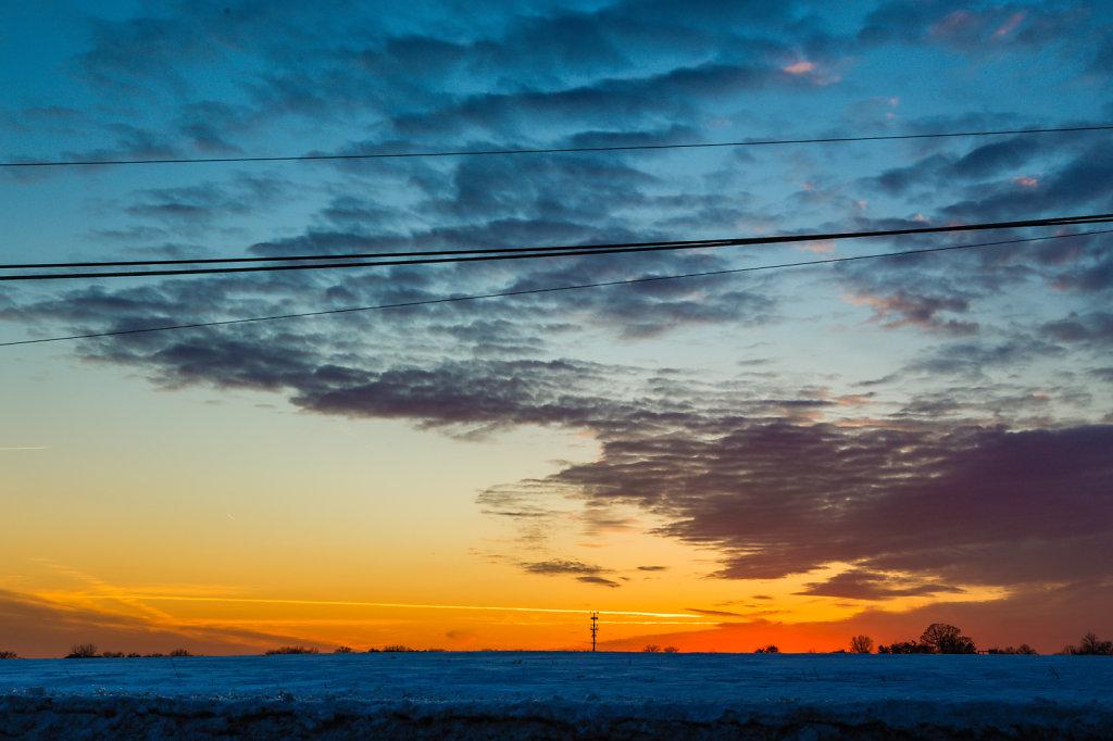 Yardley Sunset