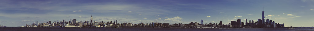 Panoramic View of NYC