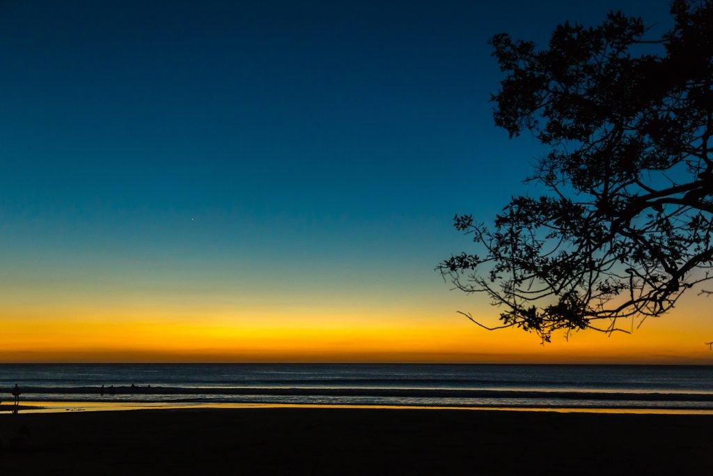 Costa Rica Gradient Sunset