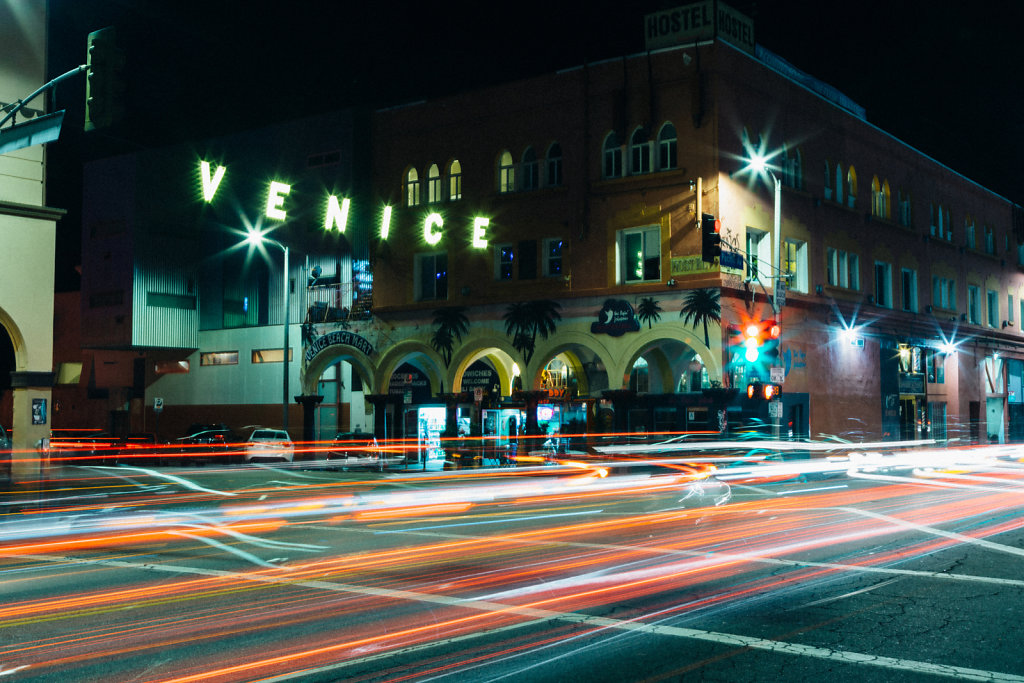 Venice Sign and Long Exposure