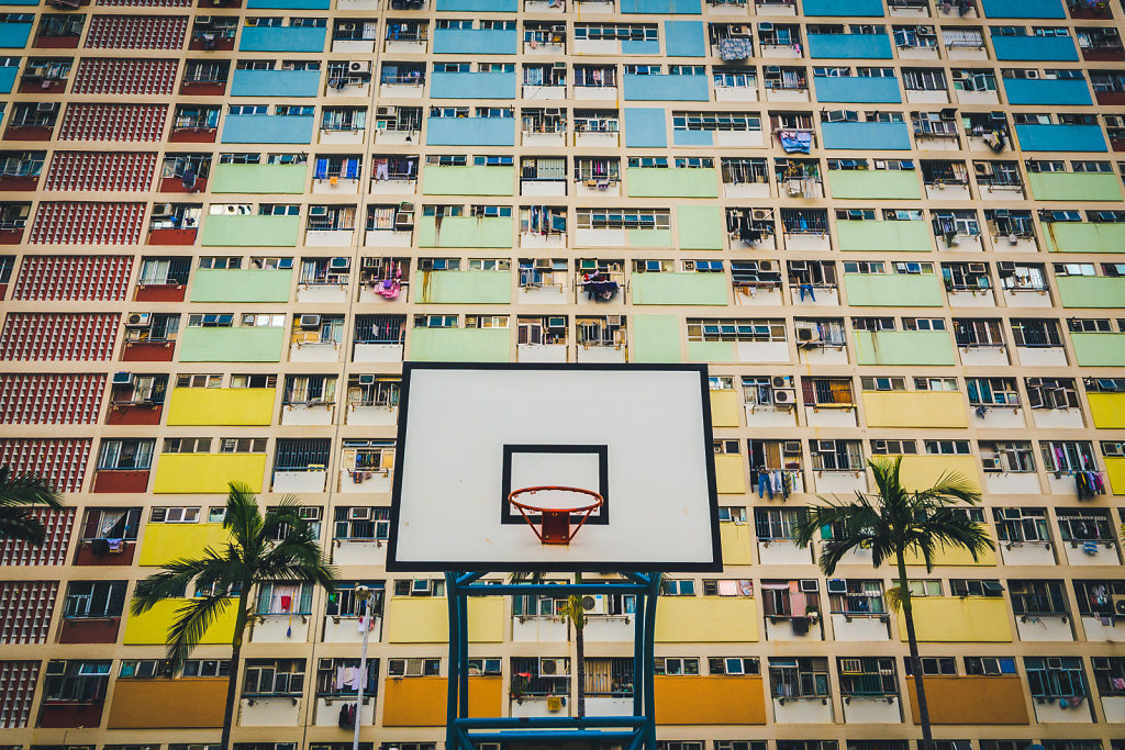 Basketball Hoop at Choi Hung Estate