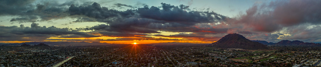 Panorama of Scottsdale